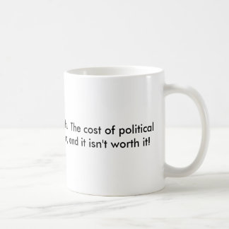 Political correctness kills basic white mug