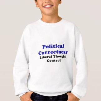 Political Correctness Liberal Thought Control Sweatshirt