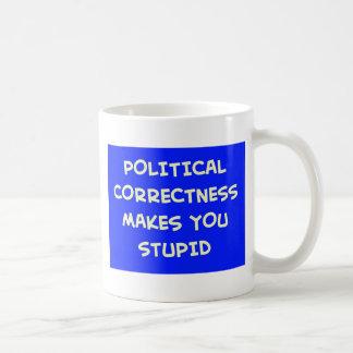 POLITICAL CORRECTNESS MAKES YOU STUPID MUGS