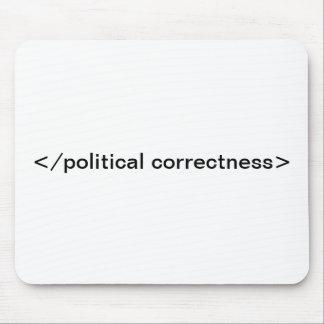 </political correctness> mouse pad