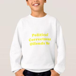 Political Correctness Offends Me Sweatshirt
