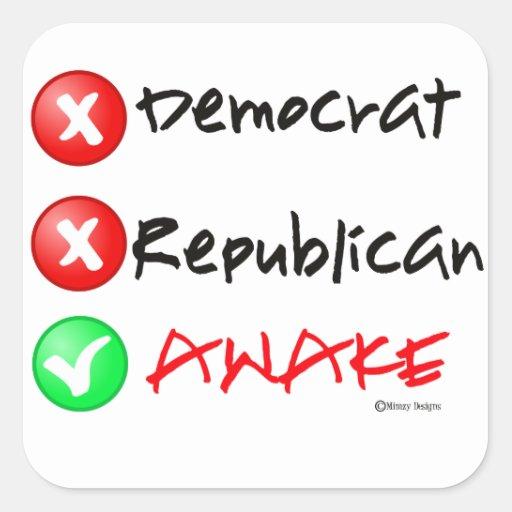 Political Decal/Sticker