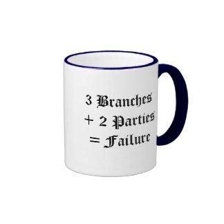 Political Failure Ringer Mug