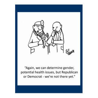 """Political Humor Postcard """"Percenters"""""""