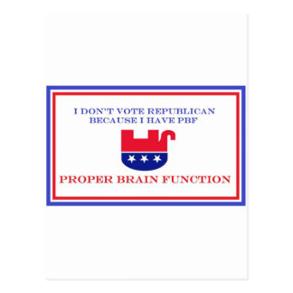 Political Items Postcard