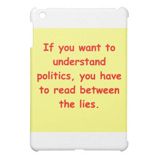 political joke iPad mini cover