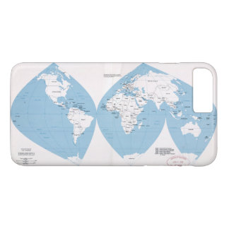 Political Map of the World (1983) iPhone 8 Plus/7 Plus Case