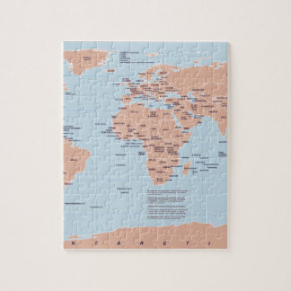 Political Map of the World Puzzles