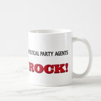 Political Party Agents Rock Mug