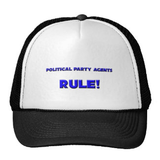 Political Party Agents Rule! Trucker Hat