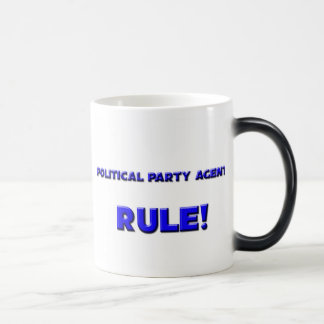 Political Party Agents Rule! Mugs