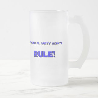 Political Party Agents Rule! Coffee Mugs