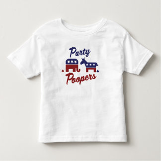 Political Party Poopers Tees