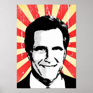 POLITICAL PROPAGANDA POSTER, Mitt Romney 2 Poster