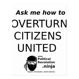 Political Revolution Postcard
