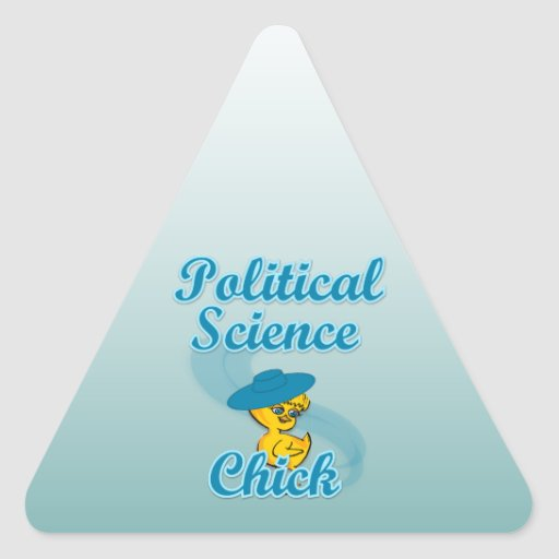 Political Science Chick #3 Stickers
