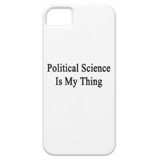 Political Science Is My Thing iPhone 5 Cases