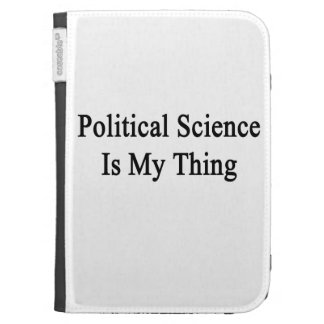 Political Science Is My Thing Kindle Folio Case