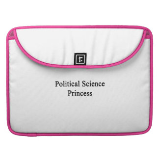 Political Science Princess Sleeves For MacBook Pro