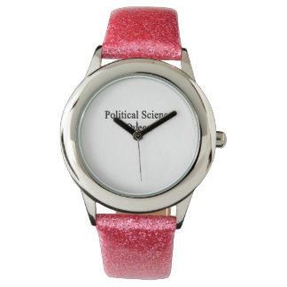 Political Science Queen Wrist Watch