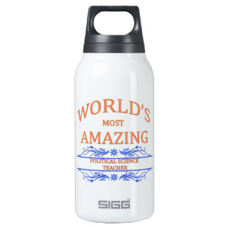 Political Science Teacher 0.3 Litre Insulated SIGG Thermos Water Bottle