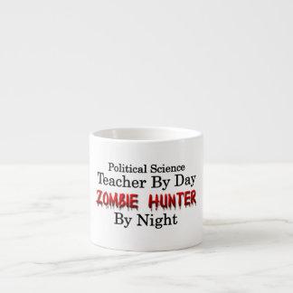 Political Science Teacher/Zombie Hunter Espresso Mug