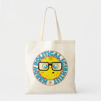 Political Scientist Nerdy Budget Tote Bag