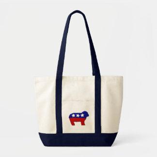 Political Sheep Tote Bag