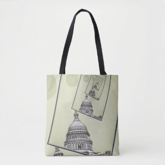 Political Spin Tote Bag