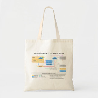 Political System of the United States Diagram Bags