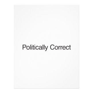 Politically Correct ai Custom Flyer