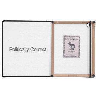 Politically Correct iPad Case