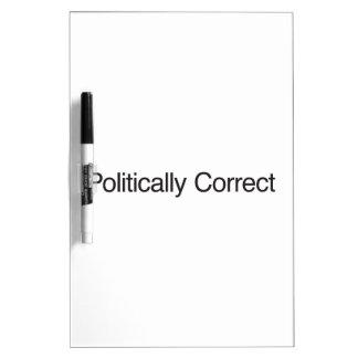 Politically Correct Dry Erase Board