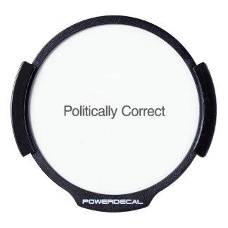 Politically Correct LED Window Decal