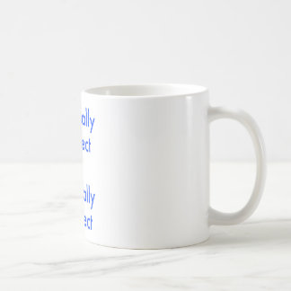 Politically correct is not equal ≠ to factually co coffee mug