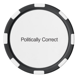 Politically Correct Set Of Poker Chips