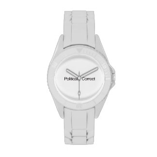 Politically Correct Wrist Watch