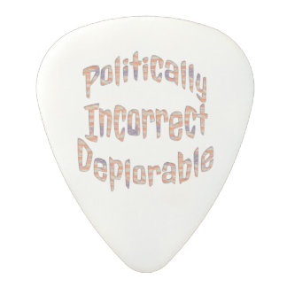 Politically Incorrect Deplorable Guitar Pick