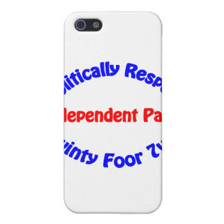 Politically Respect - Independent Party iPhone 5 Cases