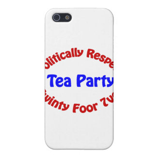 Politically Respect - Tea Party Case For The iPhone 5