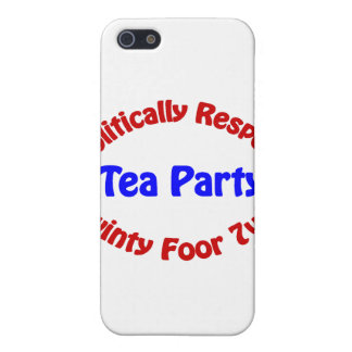 Politically Respect - Tea Party iPhone 5 Cover