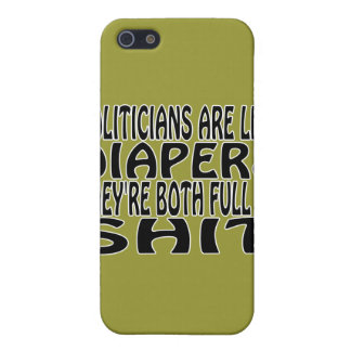 Politicians Are Like Diapers Cover For iPhone 5/5S