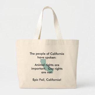Politics in California Bag