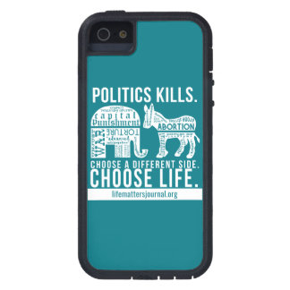 Politics Kills iPhoneSE/5 phone case