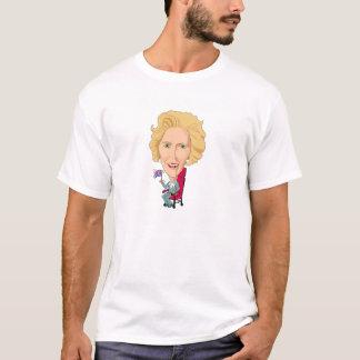 Politics Margaret Thatcher Caricature Brit T-Shirt