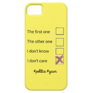 Politics phonecase case for the iPhone 5