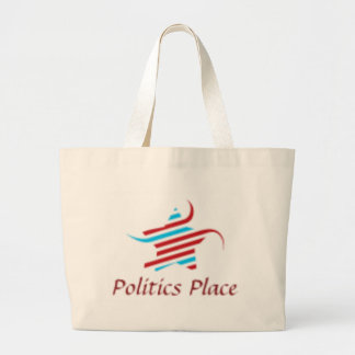 Politics Place Jumbo Tote Bag