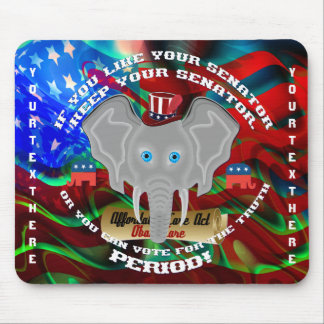 Politics Republican Memorabilia Mouse Pad