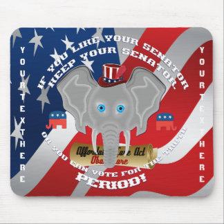 Politics Republican Memorabilia Mousepad