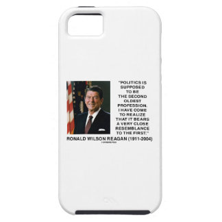 Politics Second Oldest Profession Resemblance iPhone 5 Cover